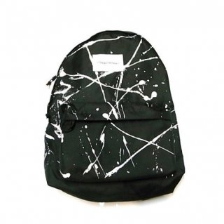 INQUIRING DAY PACK DRIPPED(BLACK)