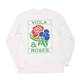 VIOLA & ROSES CLASSIC No. 002 L/S TEE
