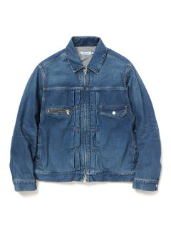 nonnative WORKER JACKET COTTON 12.5oz DENIM VW