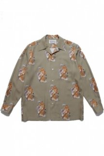 WACKO MARIA TIM LEHI / L/S HAWAIIAN SHIRT ( TYPE-3 )