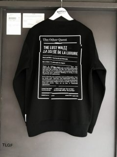 WRIGHT T.O.Q.LABEL Sweat Shirt