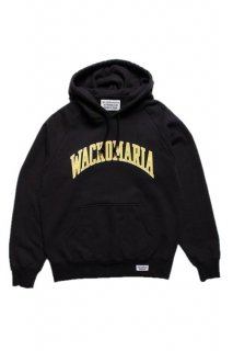 WACKO MARIA WASHED HEAVY WEIGHT PULLOVER HOODED SWEAT SHIRT ( TYPE-6 )