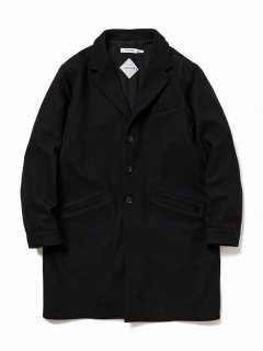 nonnative PORTER COAT LAMB WOOL MELTON WITH GORE-TEX INFINIUM™