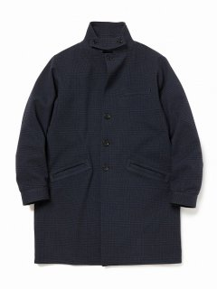 nonnative PORTER COAT POLY TWEED GLEN PLAID WITH GORE-TEX INFINIUM™