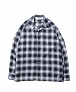 ROTTWEILER C/R Check Open Collar LS Shirts