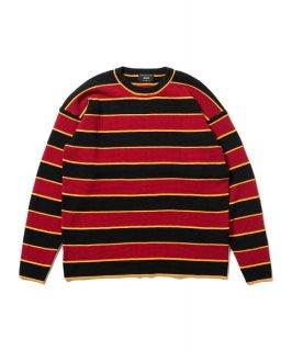glamb Oversize waffle border knit