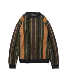 glamb Random stripe knit