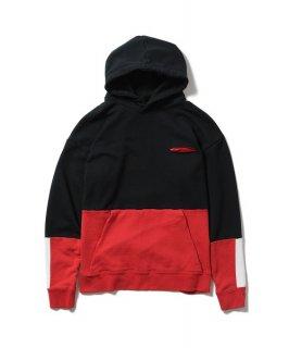 glamb Bicolor hoodie