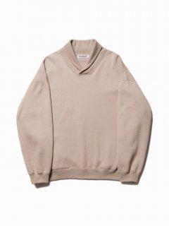 COOTIE T/C Shawl Collar Sweatshirt