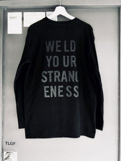 WRIGHT Long Sleeve Cotton Cut&Saw WELD YOUR STRANGENESS