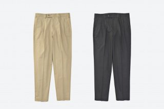 VICTIM TAPERED LINEN SLACKS