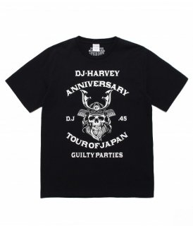 WACKO MARIA DJ HARVEY / CREW NECK T-SHIRT