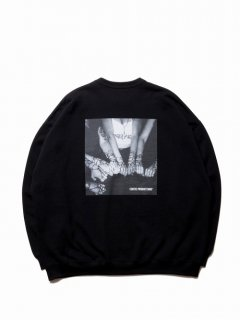 COOTIE Print Crewneck Sweatshirt (CHOLA)
