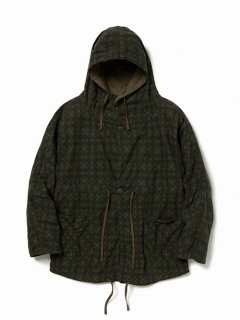 nonnative TROOPER SMOCK COTTON TWILL PLAID PRINT