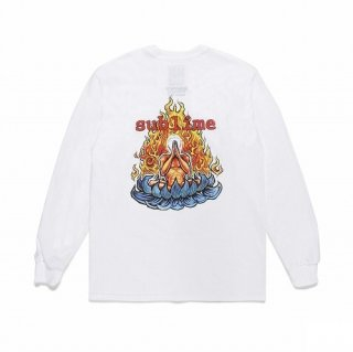 WACKO MARIA SUBLIME / CREW NECK LONG SLEEVE T-SHIRT ( TYPE-4 )