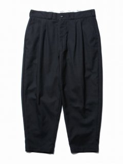 COOTIE T/C Hopsack 2 Tuck Trousers