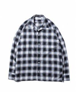 ROTTWEILER C/R Check Open Collar LS Shirts