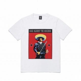 WACKO MARIA RAGE AGAINST THE MACHINE / WASHED HEAVY WEIGHT CREW NECK T-SHIRT ( TYPE-1 )