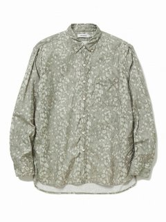 nonnative DWELLER B.D. SHIRT RELAXED FIT COTTON OXFORD LIBERTY® PRINT