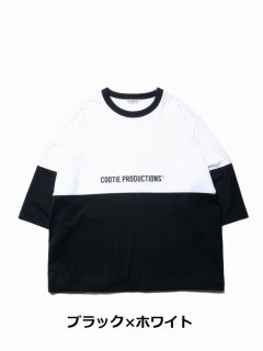 COOTIE Supima Cotton 2 Tone S/S Tee