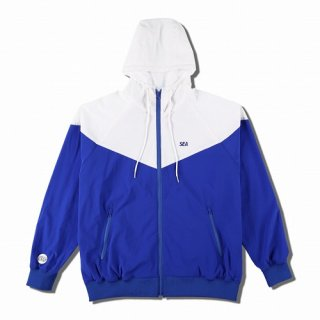 WIND AND SEA WDS HOODED ZIP-UP JACKET(TR)