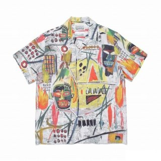 WACKO MARIA JEAN-MICHEL BASQUIAT / S/S HAWAIIAN SHIRT ( TYPE-2 )