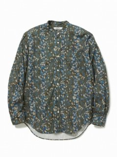 nonnative OFFICER SHIRT COTTON OXFORD LIBERTY® PRINT