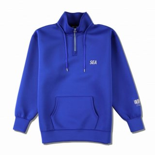 WIND AND SEA WDS CARD BOARD KNIT HALF ZIP TOPS