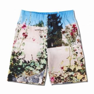 WIND AND SEA WDS PHOTO SWEAT SHORTS