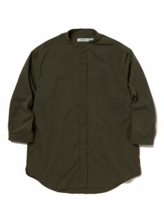 nonnative OFFICER SHIRT Q/S RELAXED FIT P/L WEATHER STRETCH COOLMAX®
