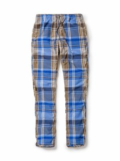 nonnative PLAYER EASY PANTS R/P MADRAS PLAID