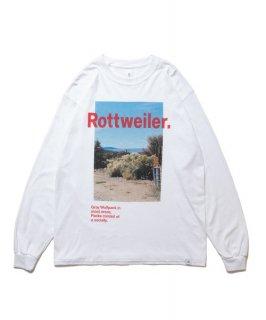 ROTTWEILER Desert Photo LS Tee