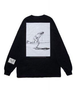 ROTTWEILER TadanobuAsano×Rottweiler Skater LS Tee