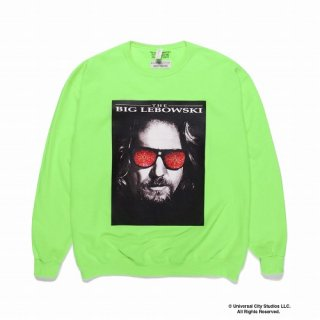 WACKO MARIA THE BIG LEBOWSKI / CREW NECK SWEAT SHIRT