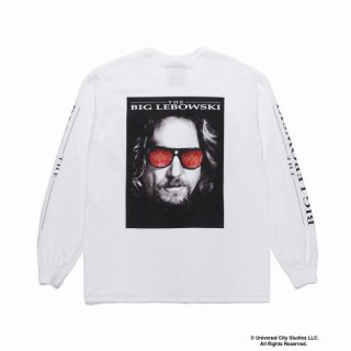 WACKO MARIA THE BIG LEBOWSKI / CREW NECK LONG SLEEVE T-SHIRT