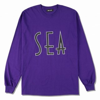 WIND AND SEA SEA (wavy) L/S T-SHIRT