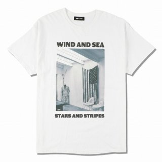 WIND AND SEA WDS (STARS AND STRIPES) PHOTO T-SHIRT