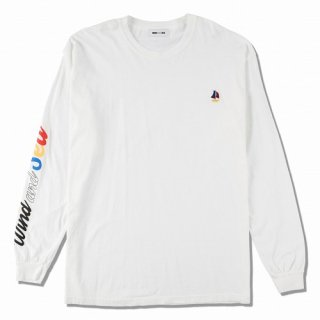 WIND AND SEA WDS(sail-boat) L/S T-SHIRT