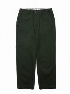COOTIE Cotton Kersey Work Trousers