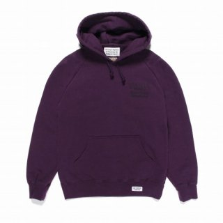 WACKO MARIA FANIA / WASHED HEAVY WEIGHT PULLOVER HOODED SWEAT SHIRT ( TYPE-3 )