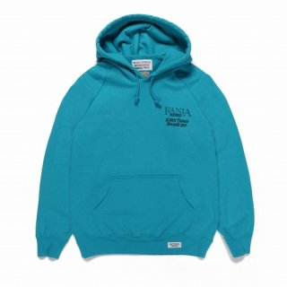 WACKO MARIA FANIA / WASHED HEAVY WEIGHT PULLOVER HOODED SWEAT SHIRT ( TYPE-2 )