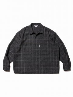 COOTIE Melange Wool Work Shirt