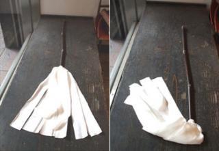 白木屋特製/羽二重正絹ハタキ