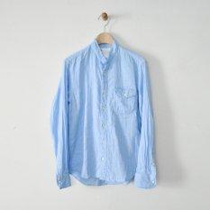 h.b stand collar shirts double gauze