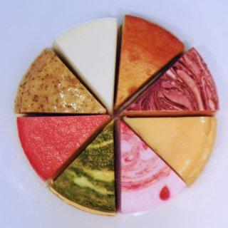 8種のチーズケーキセット