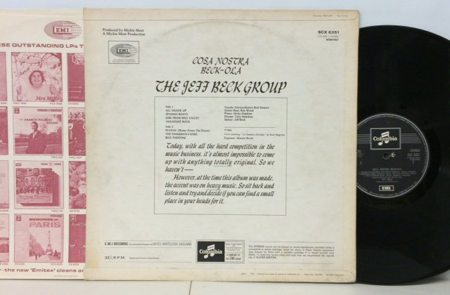 Jeff Beck Group Cosa Nostra Beck Ola Red Ring Records