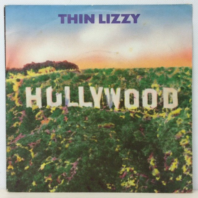 Thin Lizzy Hollywood Down On Your Luck Esp Red