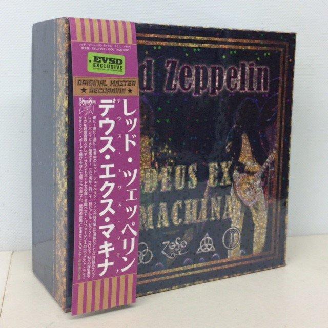 LED ZEPPELIN / DEUS EX MACHINA 14-CD BOX SET - Red Ring Records