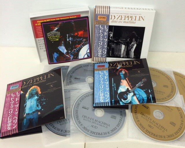 LED ZEPPELIN / DEUS EX MACHINA 8-CD BOX SET - Red Ring Records