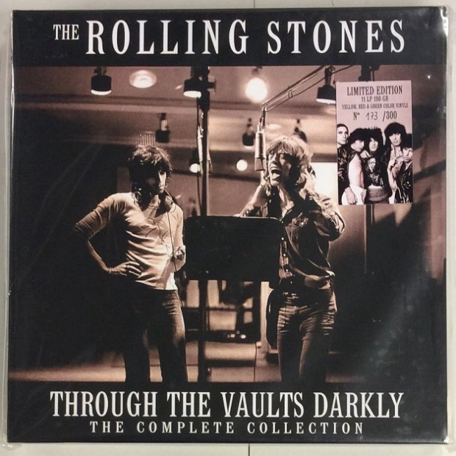 Rolling Stones Through The Vaults Darkly Red Ring Records